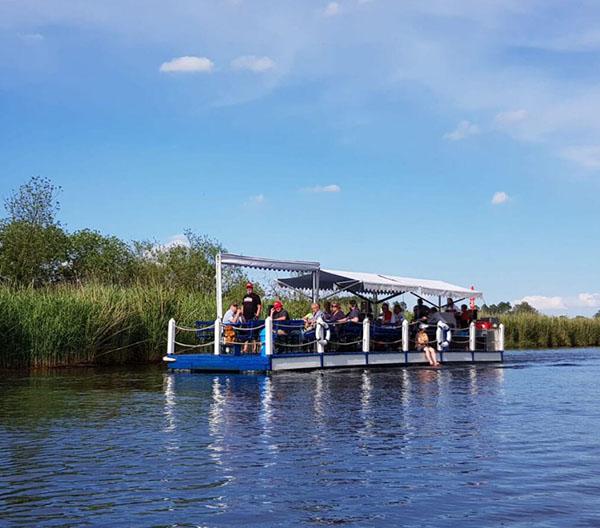 Floßfahrt mit Start in Ueckermünde