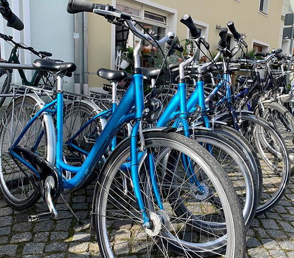 Fahrradverleih am Stettiner Haff