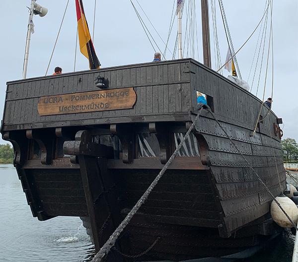Traditionsschifffahrt auf dem Stettiner Haff