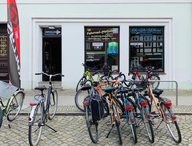 Fahrradverleih Metzdorf Lübbenau