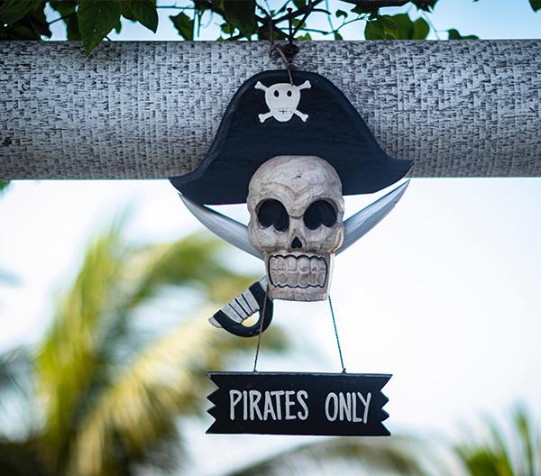 Piratenfahrt für Kinder mit der Reederei Peters