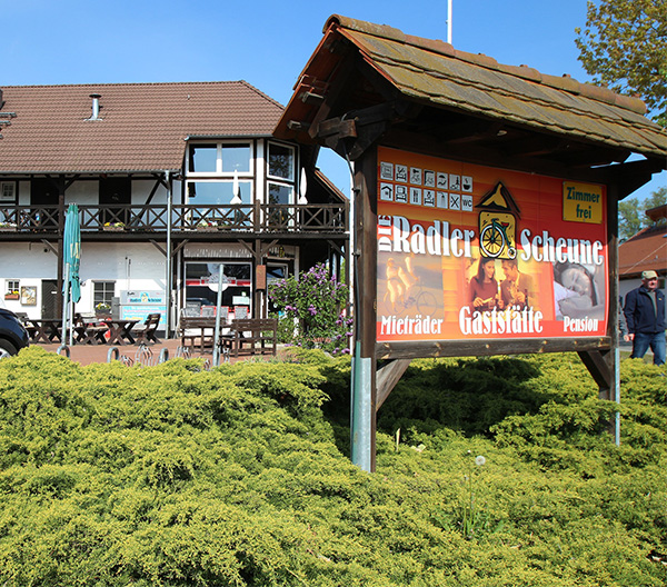 Fahrradverleih Radlerscheune in Burg im Spreewald